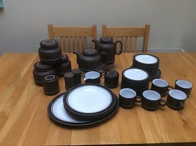 Hornsea  Contrast 1970's assorted pottery