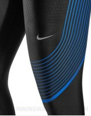 Men's NIKE Power Speed Running / Training Tights - Size L Rrp £119