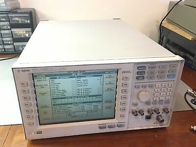 Agilent Keysight 8960 Series 10 E5515C Wireless Communication OPT 002 003