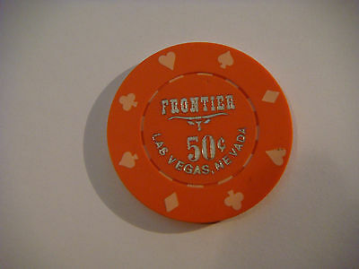 Frontier Hotel and Casino - $0.50 cent Chip - 1980's Collectible