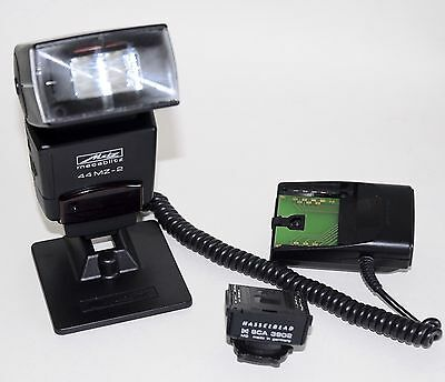 Metz 44MZ-2 with Hasselblad SCA 3902 M2 and SCA 3008A in excellent condition