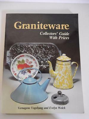 Graniteware Collectors Guide with Prices 1987 Vogelzang & Welch EUC paperback