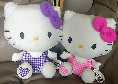 2 Large Hello Kitty Soft Toys