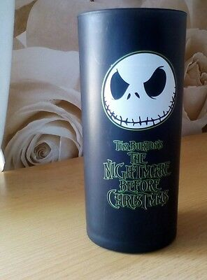 Nightmare before christmas frosted black glass Disney store
