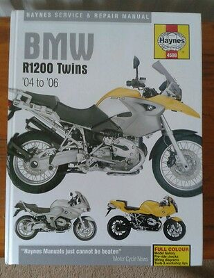 Haynes Bmw R1200 twins service and repair manual 04 to 06