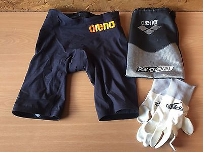 Arena Carbon Pro Powerskin Mk2 Jammer/ swimming trunks/ racing jammers (SIZE 30)