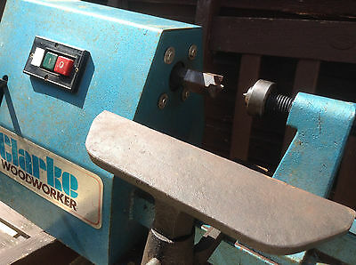 CLARKE WOODWORKER  ELECTRIC WOOD LATHE VARIABLE SPEED , turner , woodwork