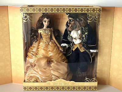 Disney Store Platinum Belle Beauty And The Beast Limited Edition Dolls Le 500