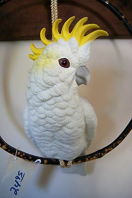 Adorable Cockatoo Wall Hanging - New with tags