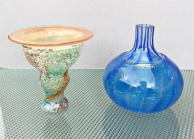 UNUSUAL Kosta Boda Miniature Can Can glass vase by Engman - Artist's Collection