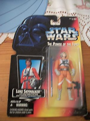 star wars the power of the force - 1995-action figure- luke skywalker