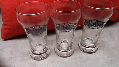 Set Of 3 Canadian Beer Taster Glasses - Granville Island Brewery From B.c.