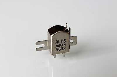 ALPS A668 stereo cassette tape head new / unused  made in Japan