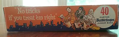 1950s? Vintage Butterfinger Halloween Grafic Candy Box 40 Trick or Treats RARE