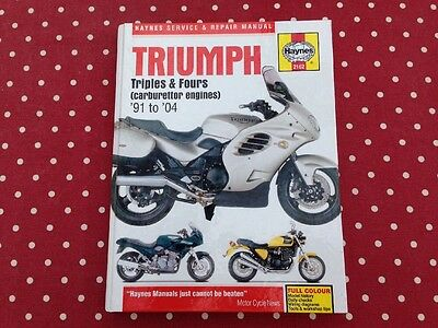 Triumph Triples & Fours Haynes Service & Repair Manual
