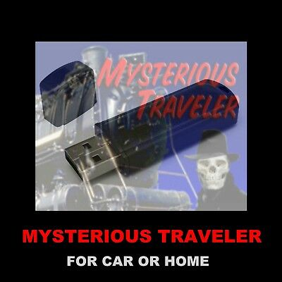 Mysterious Traveler, The. Enjoy 77 Old Time Radio Shows While Driving Or At Home