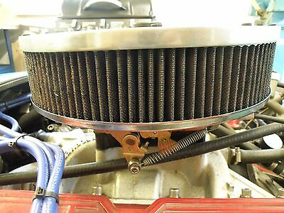 rover v8 edlebrock carb and manifold and air cleaner