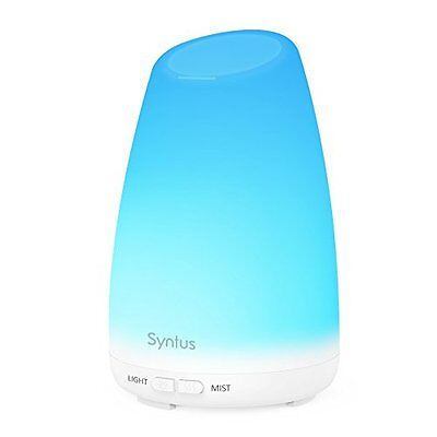 Essential Oil Diffuser Portable Aromatherapy Diffusers W/ 7 Colored LED Lights