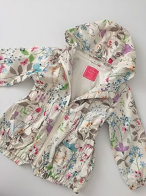 Next Botanical Spring Summer Jacket Parka Raincoat Age 3-4 Years