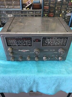 National   Radio    Model   Nc-98    Shortwave   &    Ham    Receiver