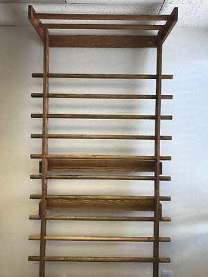 Solid Oak Stall Bar Set with Pull Up Bar by Denver Circus Supply