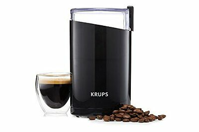 KRUPS F203 Electric Spice and Coffee Grinder w/ Stainless Steel Blades, 3 Oz -