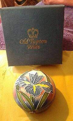 Old Tupton Ware  Trinket Box new and boxed