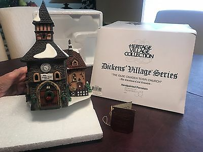 """Department 56 Dickens' Village Series """"The Olde Camden Town Church"""" #58346"""