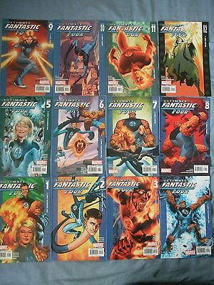Utimate Fantastic Four # 1 - 32, Annual # 1. Marvel, (1st Marvel Zombies)