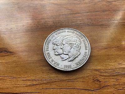 United Kingdom - H.R.H The Prince of Wales and Lady Diana Spencer Coin 1981