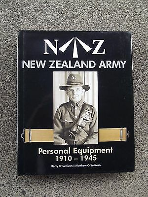 New Zealand Army Personal Equipment 1910-1945  Collectors Book
