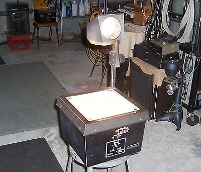 Eiki model No. 3850A Still Picture Projector, Overhead Projector