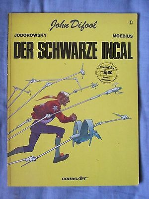 The Incal: Book 1 by Jodorowsky & Moebius. 1983 (German Language Edition)