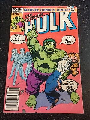 Incredible Hulk#264 Awesome Condition 7.0(1981)Buscema Art, Corrupteur!!