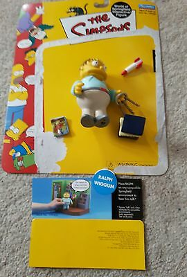 The Simpsons playmates World of Springfield Ralph Wiggum interactive figure