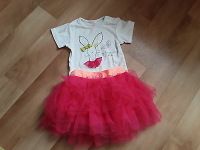 Next Girl Tutu Skirt Outfit Size 9-12 Months