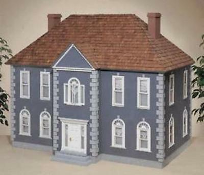 Houseworks RGT Thornhill Federal Style Dollhouse Shell With Component Kit  New