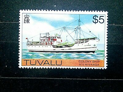 tuvalu #70 mint NH$5 value