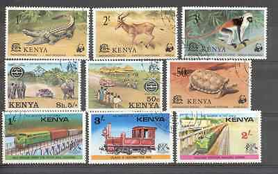 Kenya -  Lot of Stamps Endangered species