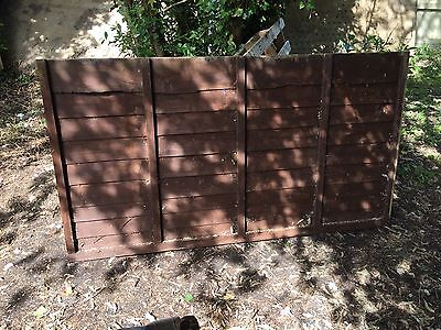 "6 Foot X 3""4 Fence Panel"