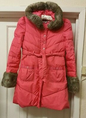 Juicy couture girls coat 14 years pink