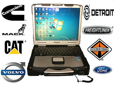 Universal Super Heavy Duty Diesel Diagnostic Laptop Panasonic Cf-30
