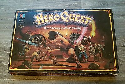 Hero Quest from MB GAMES and Games Workshop