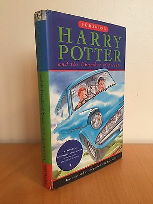 Harry Potter And The Chamber Of Secrets Hardback Book - TS 1st Edition 1st Print