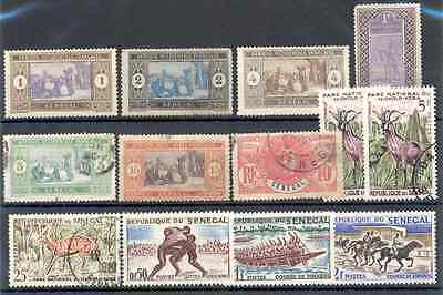 Senegal - Lot of mint and used Stamps