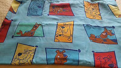 Scooby-Doo Twin Flat Sheet Gently Used  FREE SHIPPING!