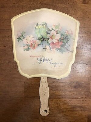 Antique Vintage Singer Advertising fan Fifty-first Season