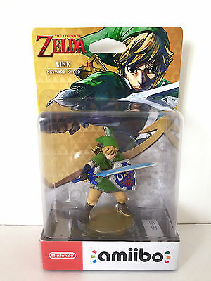 The Legend Of Zelda Skyward Sword Link Amiibo Uk Version Nintendo