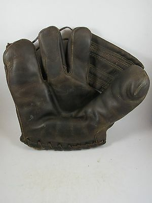 Vintage McGregor Goldsmith Pick Pocket 3 finger baseball glove