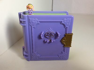 Vintage Polly Pocket 1996 POLLY'S TOY LAND - ENCHANTED STORYBOOK With 1 Figure